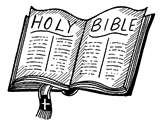 An open bible
